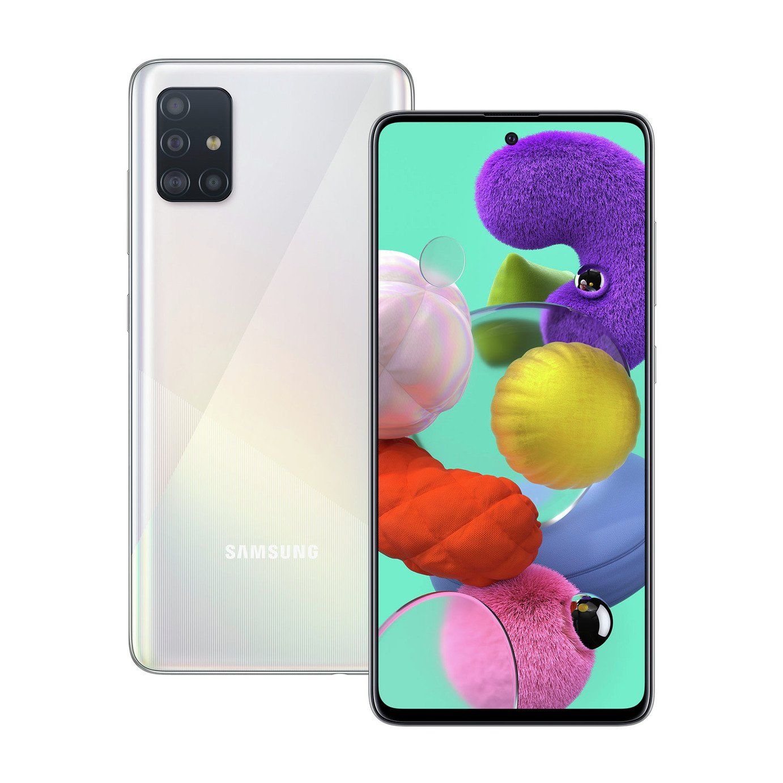Sim Free Samsung A51 128gb Mobile Phone White Hd Samsung Celulares Samsung