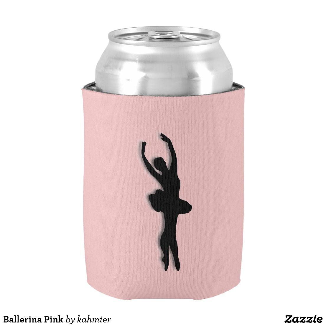 Ballerina Pink Can Cooler