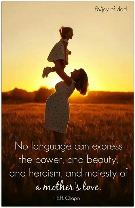A mother's love | Quotes & Sayings | Mothers love, I love my