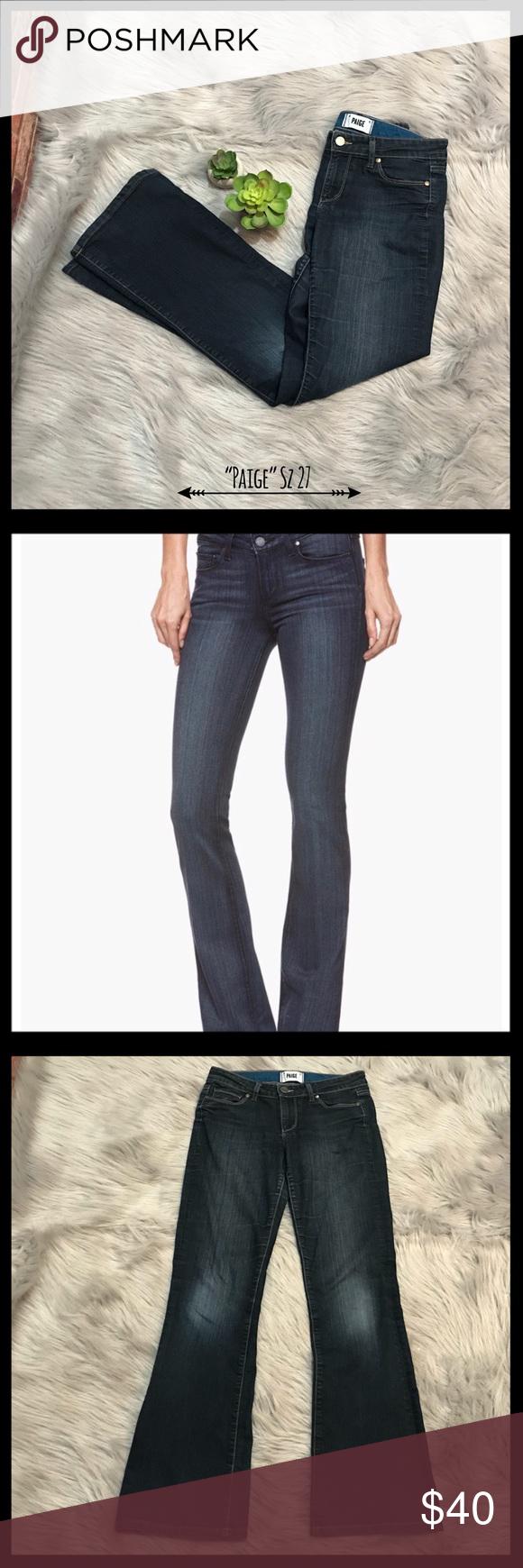 b15f50c2a84 Paige Skyline Bootcut Michelle Wash Jeans Paige Skyline Bootcut Michelle  Wash Jeans in a size 27