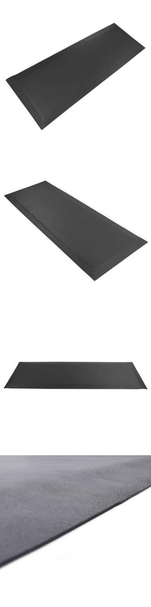 Anti Fatigue Floor Mat Foam Gel Kitchen Rug Office Standing Mat Black//Grey