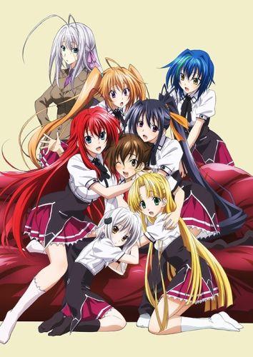 High School Dxd Born Anime High School Anime High School