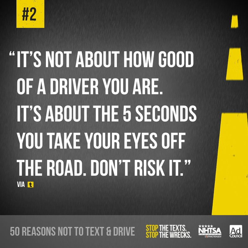 Young Person Car Insurance Quotes: Reason #2 Not To Text And Drive From Our Tumblr Page