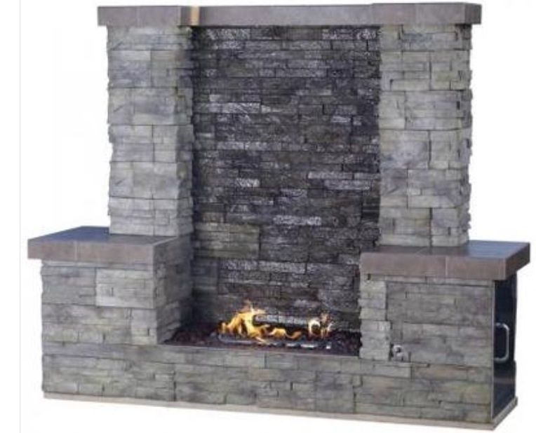 Outdoor Products 31037 Fire Water Wall
