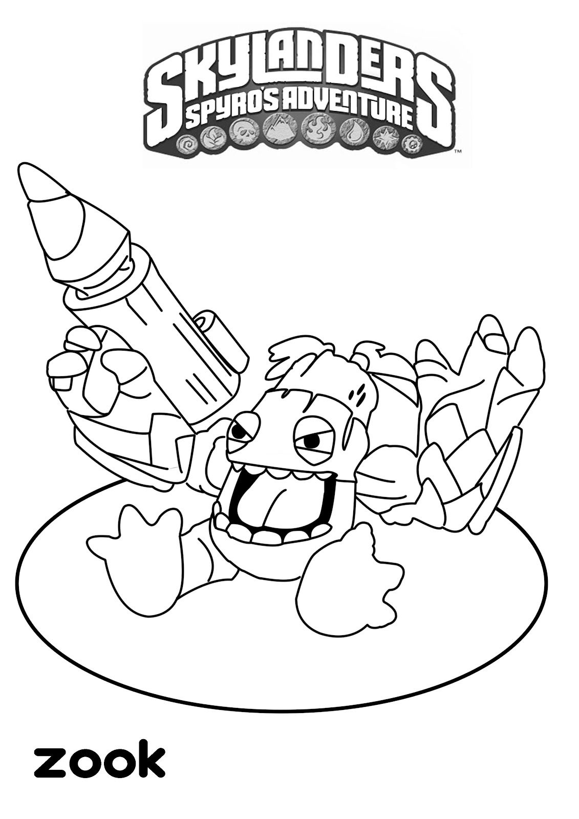 Coloring Pages Printable Skylander Coloring Pages 1000 images about skylanders on pinterest coloring pages and portal
