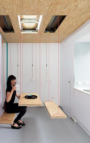 1 | This Transformable Microapartment Has Secret Trap Doors Everywhere |  Co.Exist | Ideas