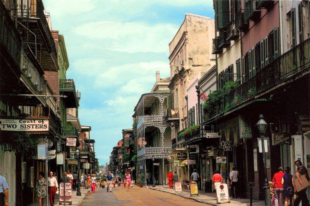 USA, le vieux carré sur Royal Street, le quartier Français