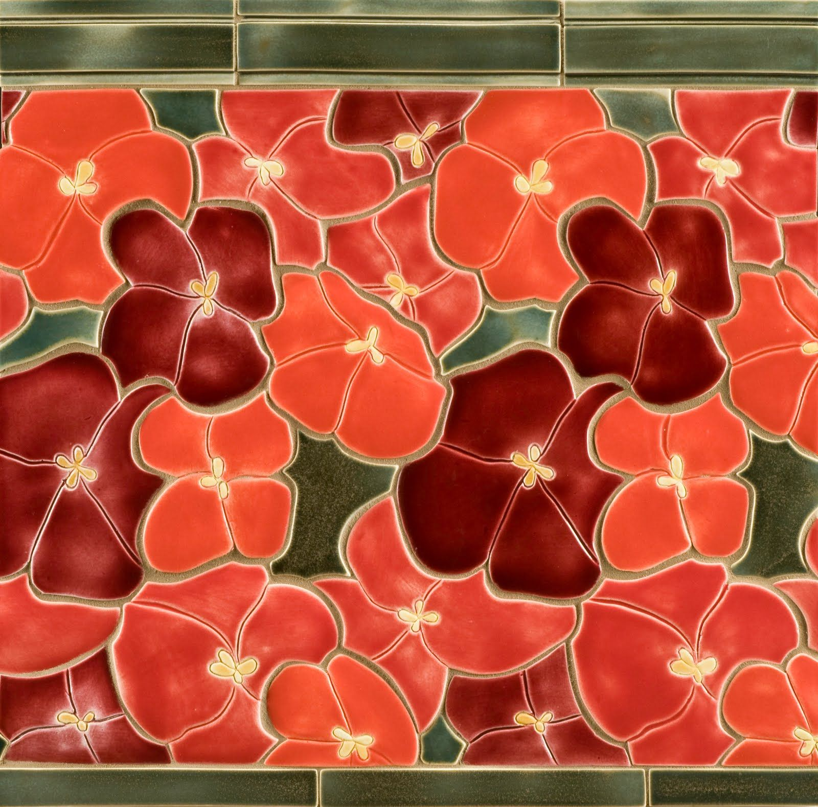 Poppy Mosaic Tile