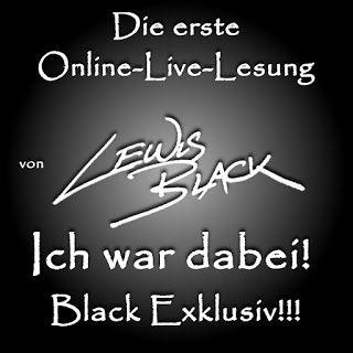 Das Lesesofa: Erste Online-Live-Lesung von Lewis Black