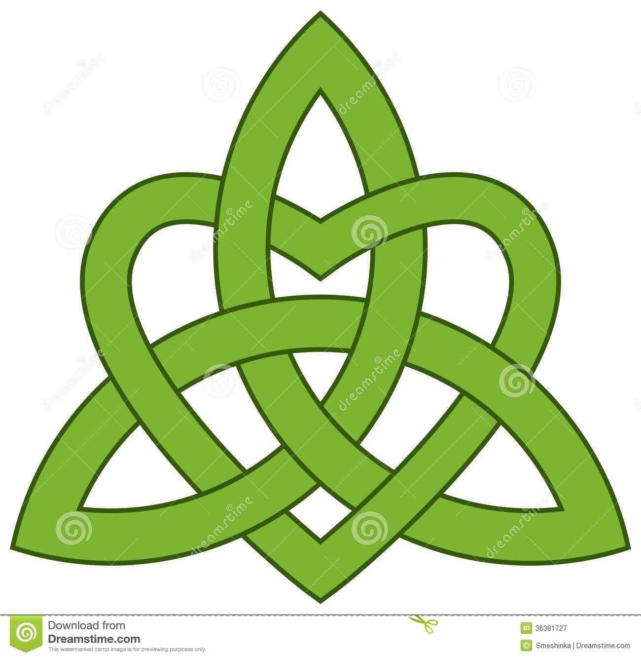 Celtic Trinity Knot With A Celtic Symbols Trinity Jt Ipii