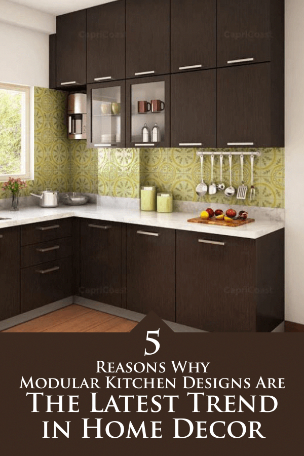 L Shape Indian Kitchen Cabinet Design
