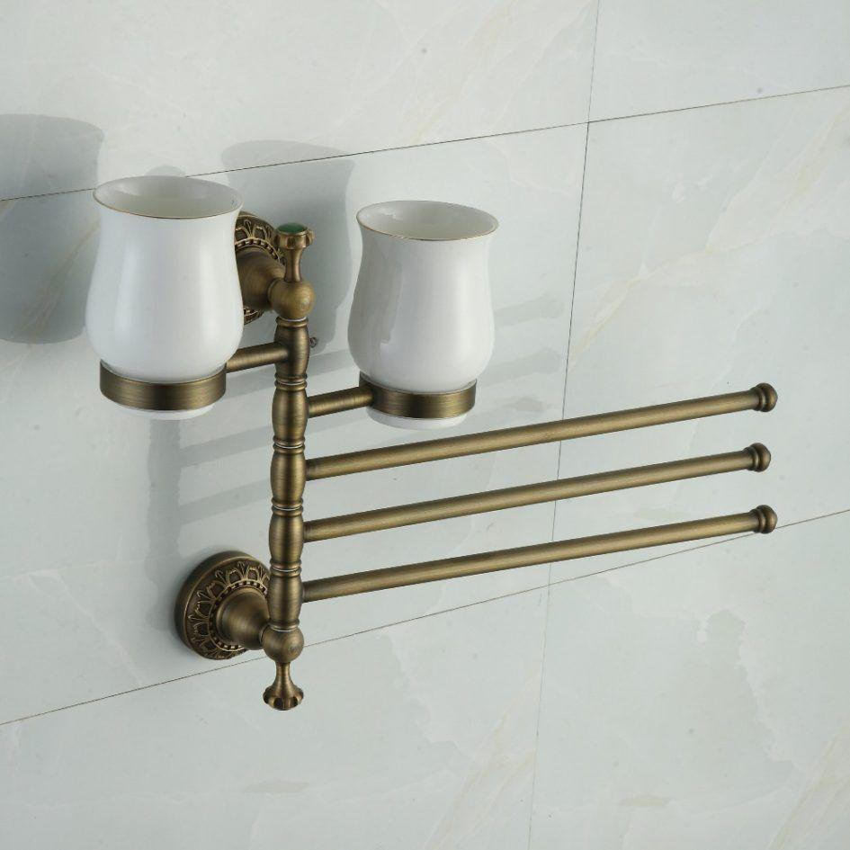 Bathroom Affordable Motable Bathroom Towel Racks With Classic ...