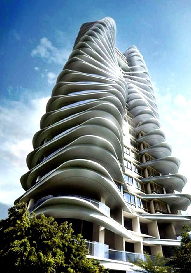 Ferrell Residences Condominium Singapore | Zaha Hadid | Pinterest