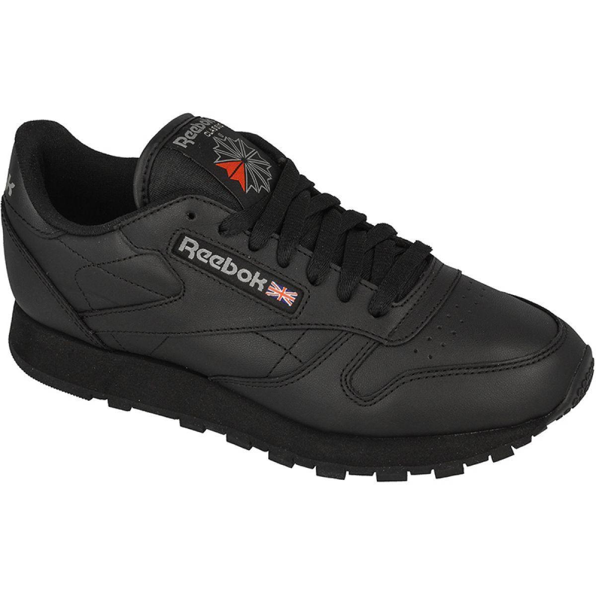 Reebok Classic Leather M 2267 Shoes Black Reebok Classic Leather Black Reebok Black Shoes Reebok Classic