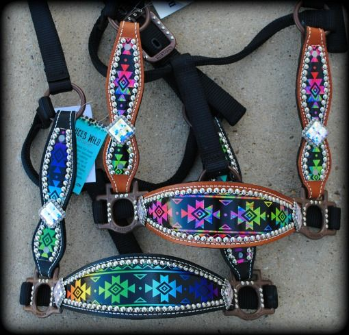 Aztec Cheek Halter IN STOCK