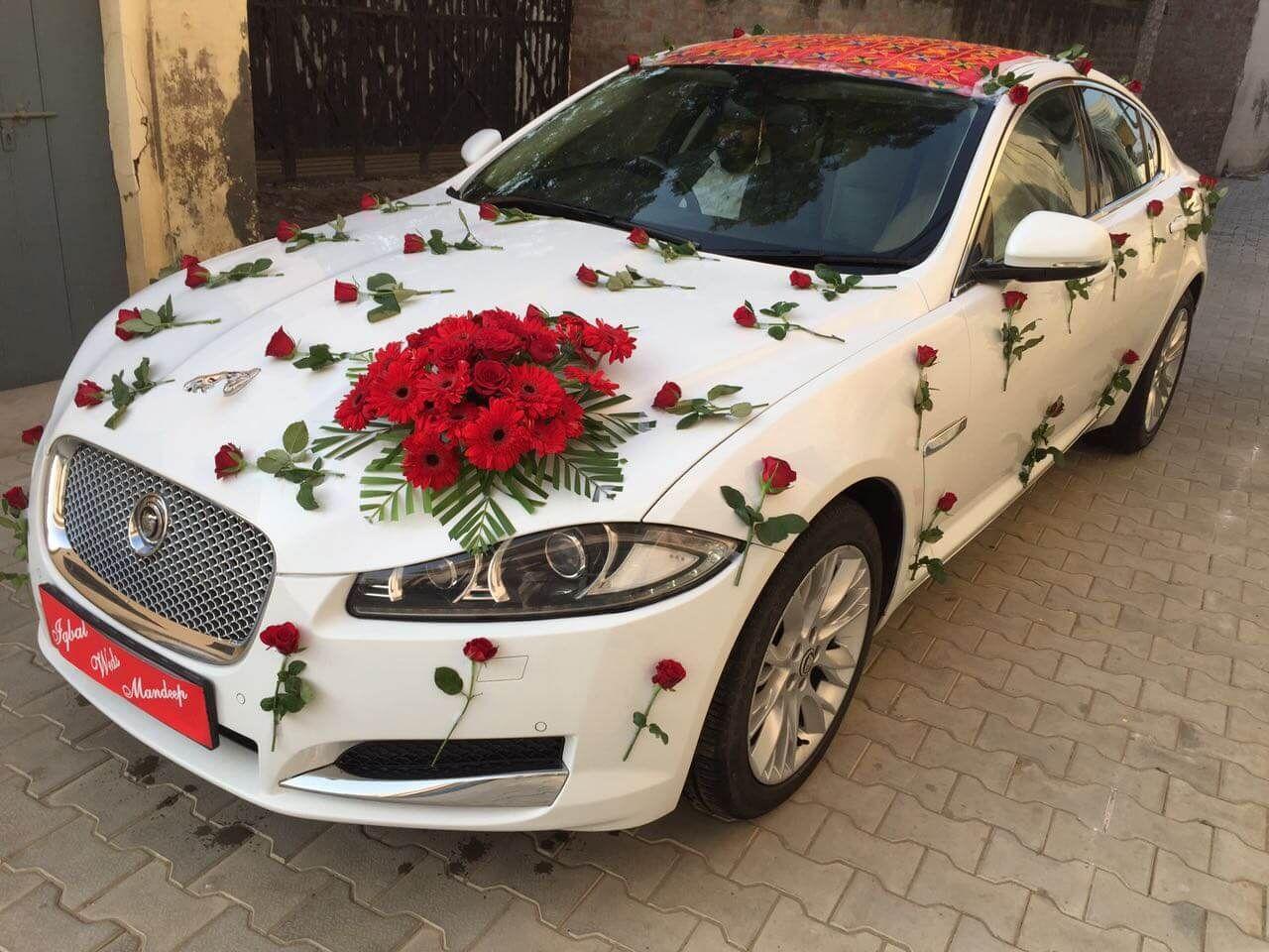 Luxury Wedding Car In Punjab Jaguar Xf Jaguar Wedding Car