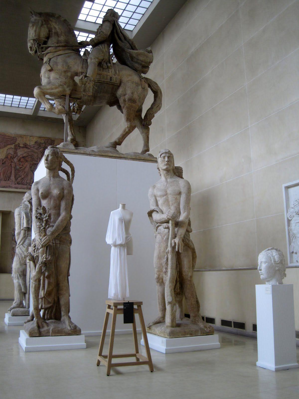 Madame Grès Exhibition. Musee Antoine Bourdelle, Paris
