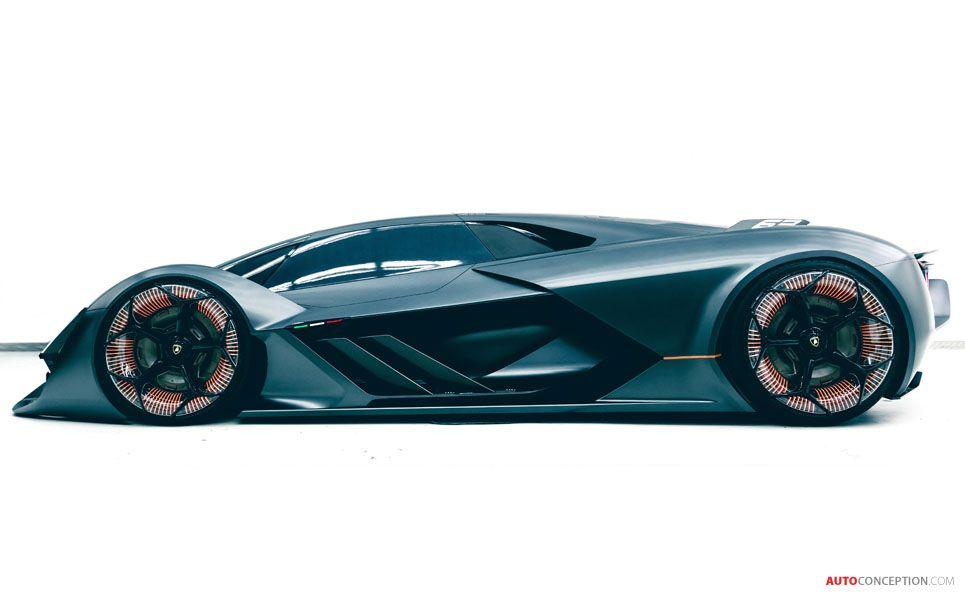 2017 Lamborghini Terzo Millennio Concept Lamborghini Terzo