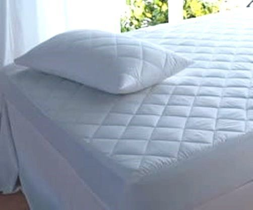 Details About Waterproof Quilted Mattress Protector Supersoft Microfibre Breathable Super King Size Bed Bed Mattress