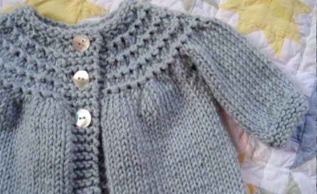 Tejidos de dos agujas chambritaspara bebé - Imagui