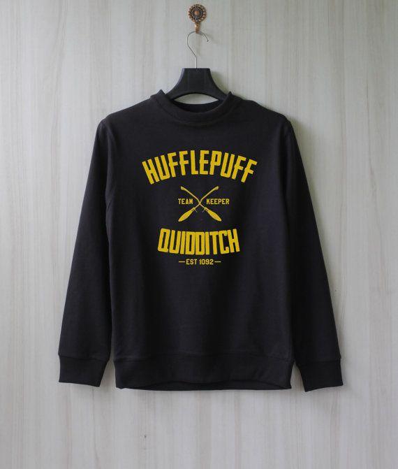 hufflepuff quidditch harry potter shirt sweatshirt by
