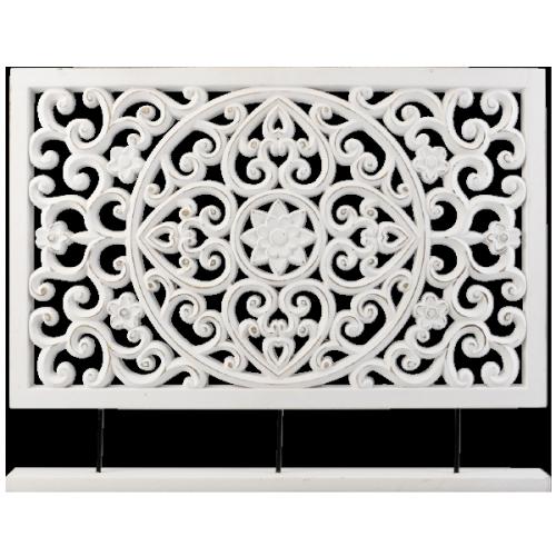 Ornament Raamscherm Decoratie Interieur Woonkamer Raamdecoratie