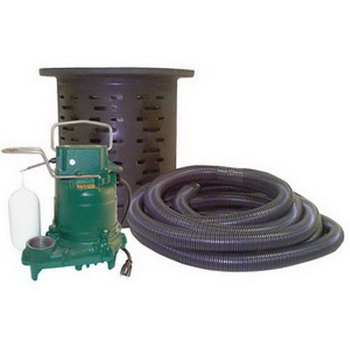 Zoeller 53 Series Crawl Space Pumping System 115 Volt 3 10 Hp Sump Pump Sump Utility Water