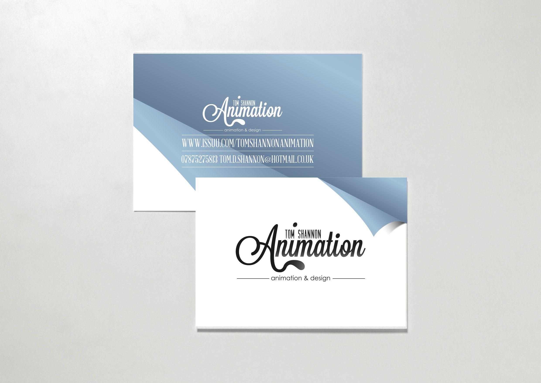 Tom Shannon Animation & Design Business Cards | Design | Pinterest ...