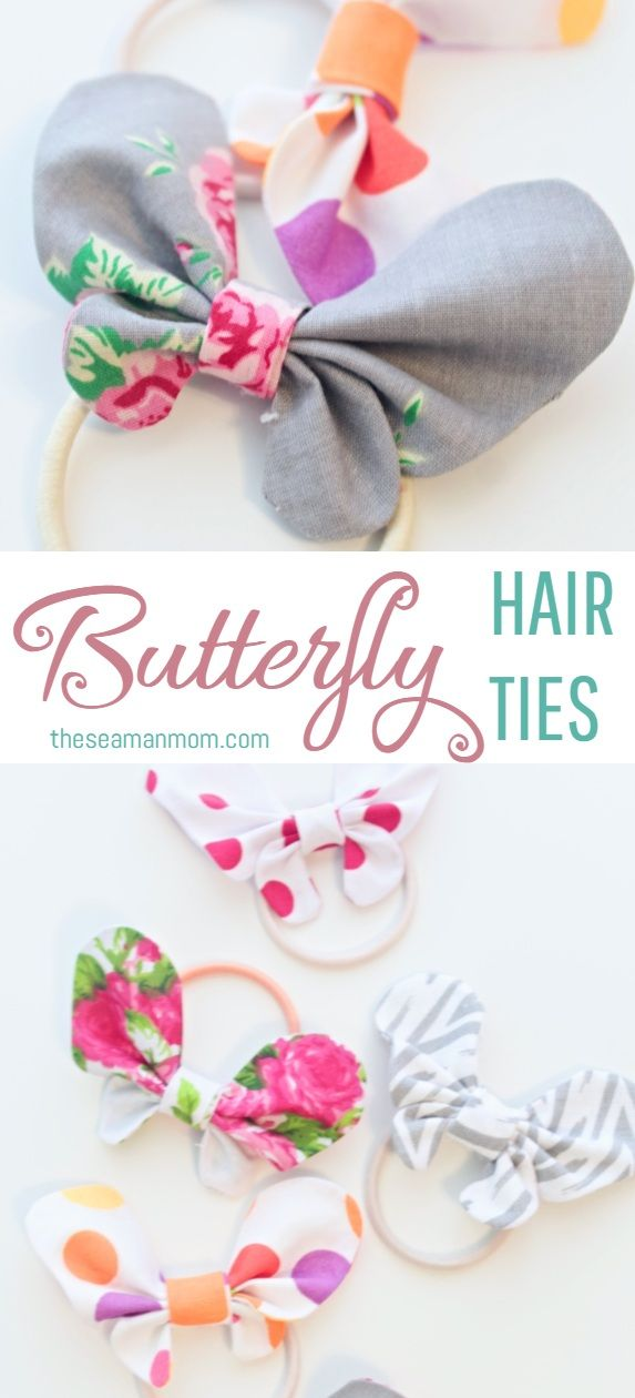 Butterfly Hair Bows Cute Spring Hair Accessories For Girls #kidshairaccessories