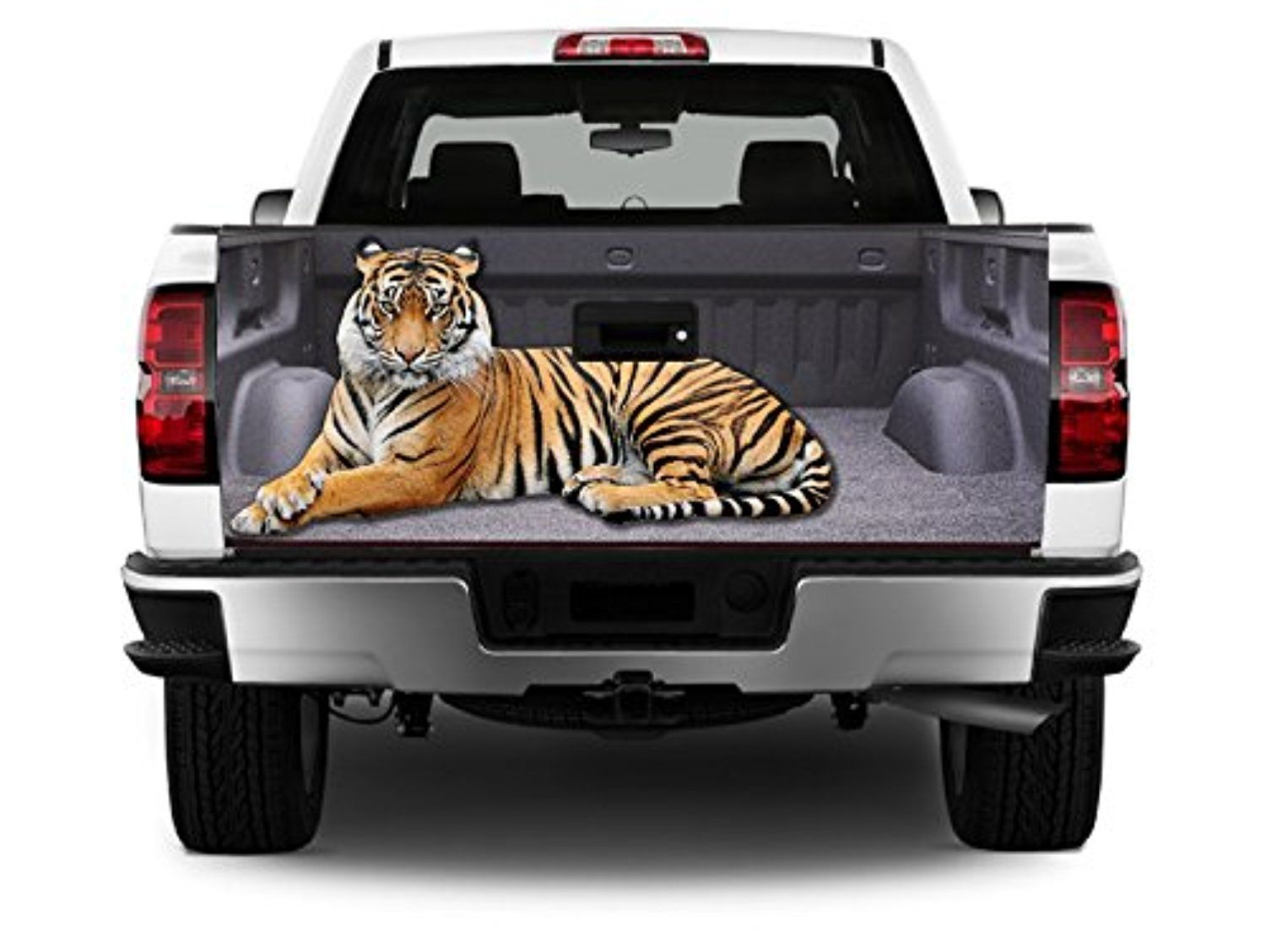 T322 Tiger TAILGATE WRAP Vinyl Graphic Decal Sticker F150