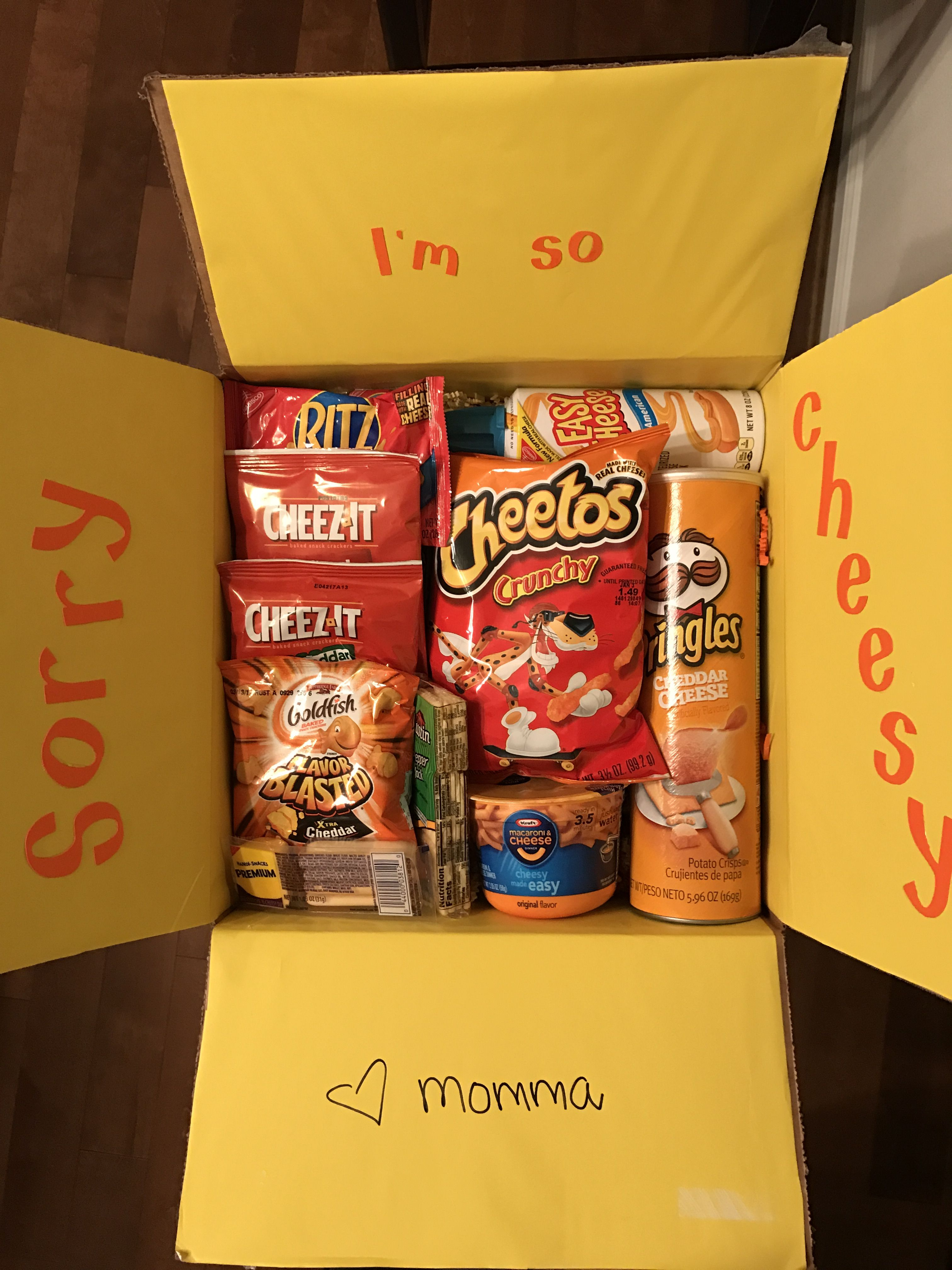 Care package for my college student.   Just an idea   Pinterest