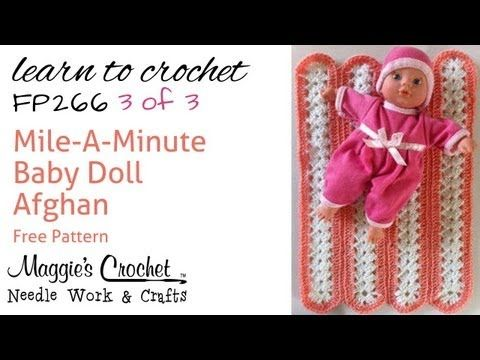 Mile A Minute Afghan Part 3 Of 3 Right Hand Free Crochet Pattern