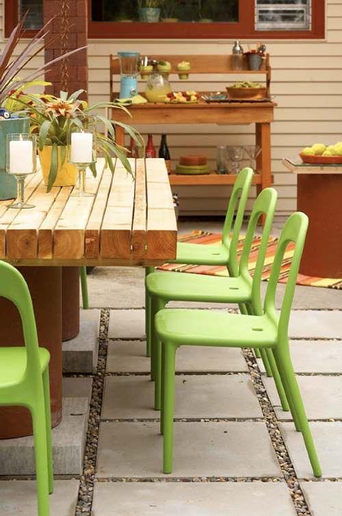 Fusionar muebles en patios y terrazas jardines paisajismo muebles terraza jardin y terrazas - Sillones de jardin ikea ...