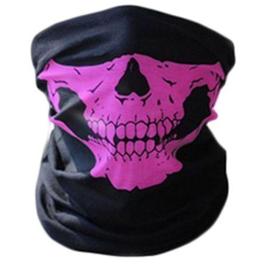 Skeleton Ghost Skull Face Mask Biker Balaclava Costume Halloween Cosplay Stylish Ad Spon Face Mask Skull Skull Scarf Skull Face Skull Face Mask