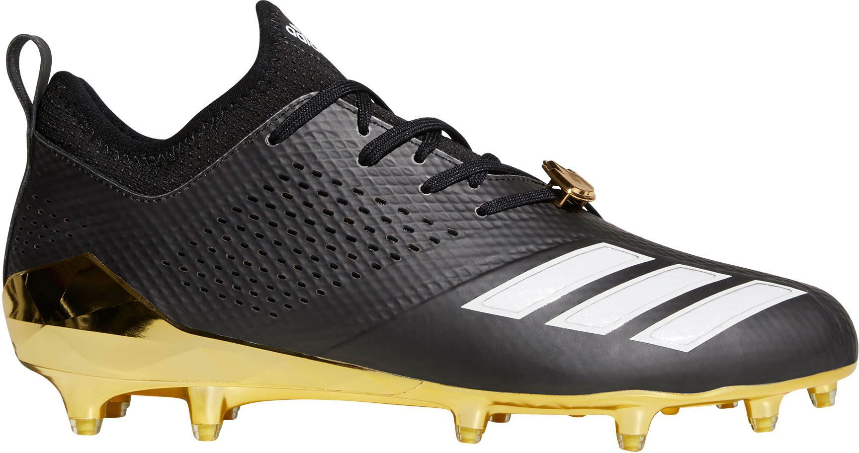 online store 5f494 b7783 adidas Men s adiZERO 5-Star 7.0 7V7 Football Cleats, Black Gold