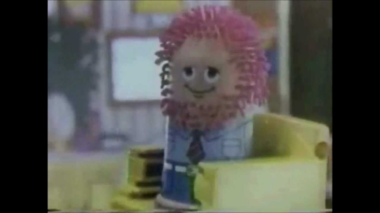 Play Doh Fuzzy Pumper Barber Beauty Commercial 1978