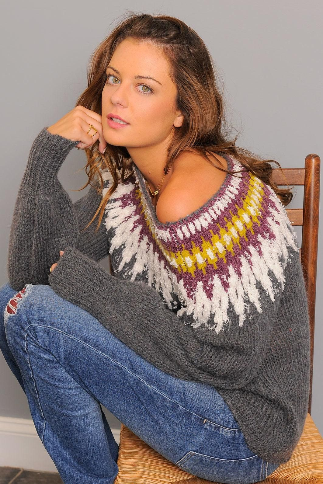 Free People Baltic Fair Isle Sweater | South Moon Under | F A L L ...