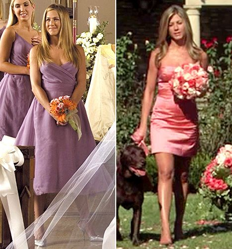 Jennifer Aniston S Bridesmaid Moments In Rumor Has It Left And
