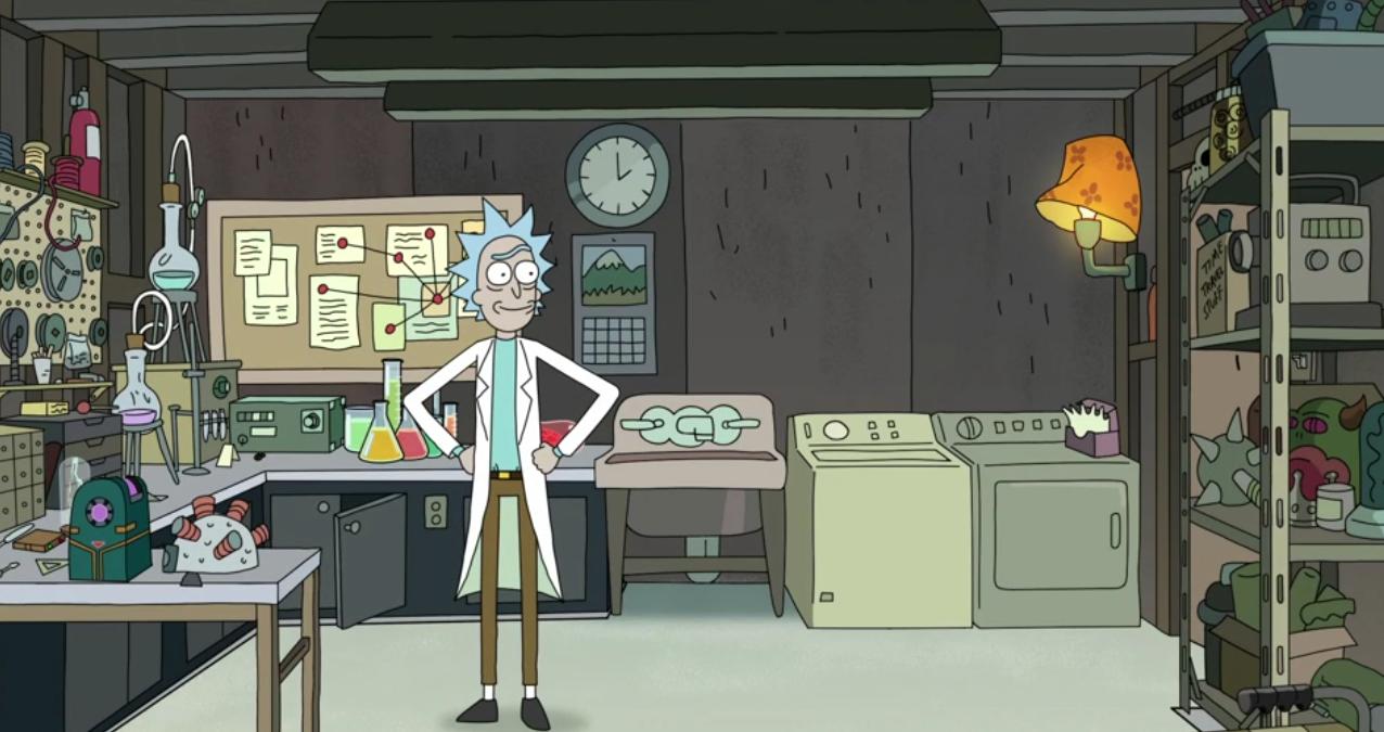 Rick Amp Morty The Garage Rick Amp Morty