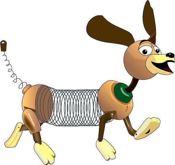 Slinky Dog Toy Story Slinky Online Art Gallery Pluto The Dog