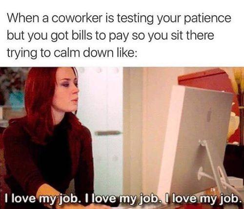 Image By Puteri Jamaludin Funny Coworker Memes Job Humor Work Humor