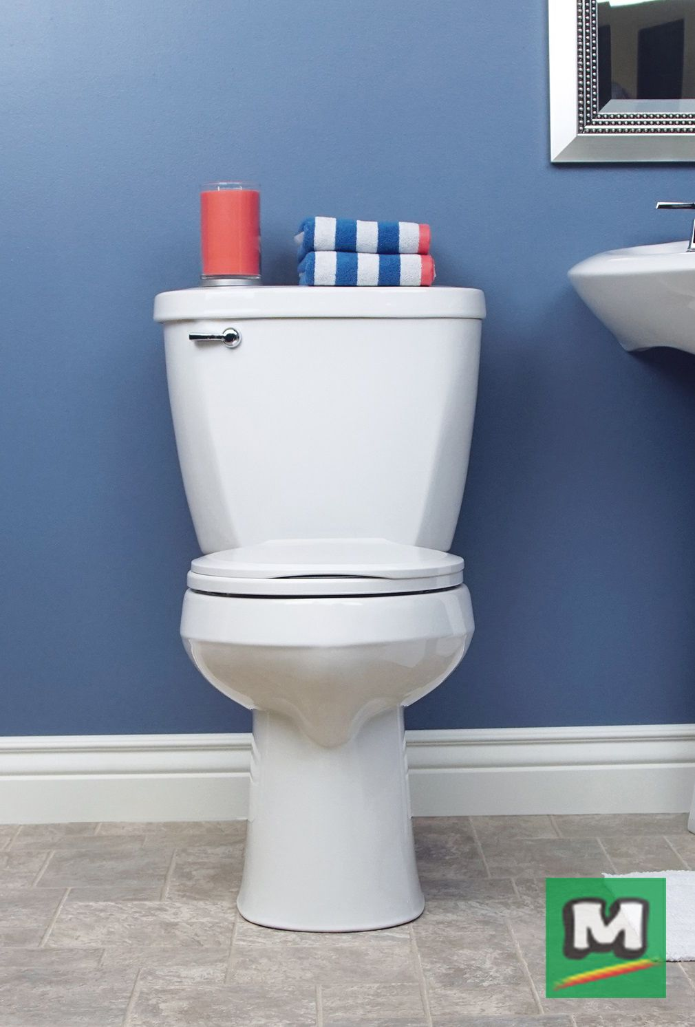 The Mansfield® Summit™ ADA 2-Piece Toilet is the perfect bathroom ...