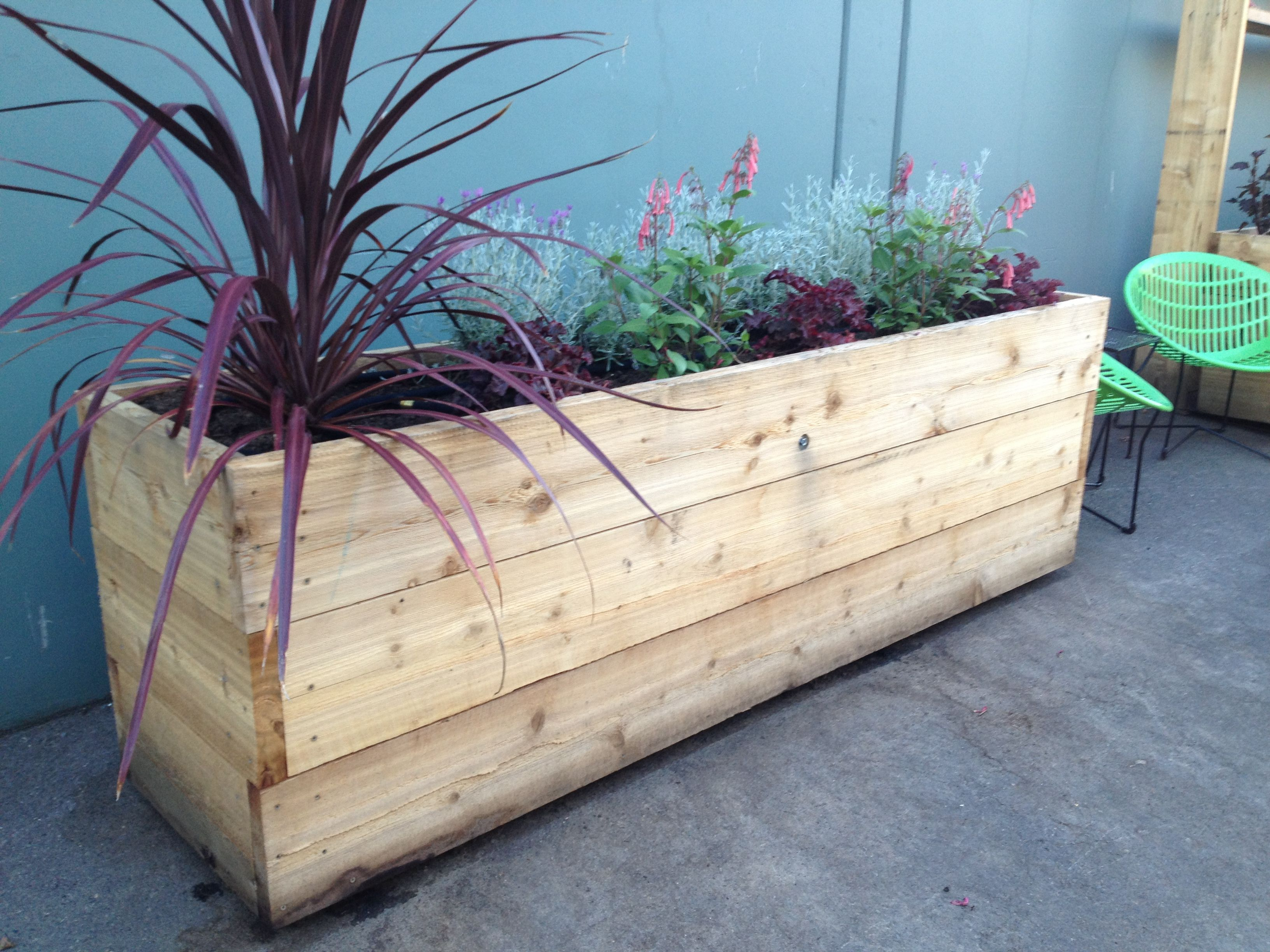 Tall Planter Boxes Cyril' Side Yard Ideas