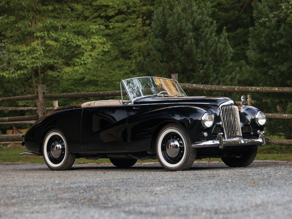 1954 Sunbeam-Talbot Alpine roadster Maintenance of old vehicles: the ...