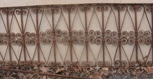 Moroccan Iron Fence Google Search Wrought Iron Railing Iron Railing Antiques