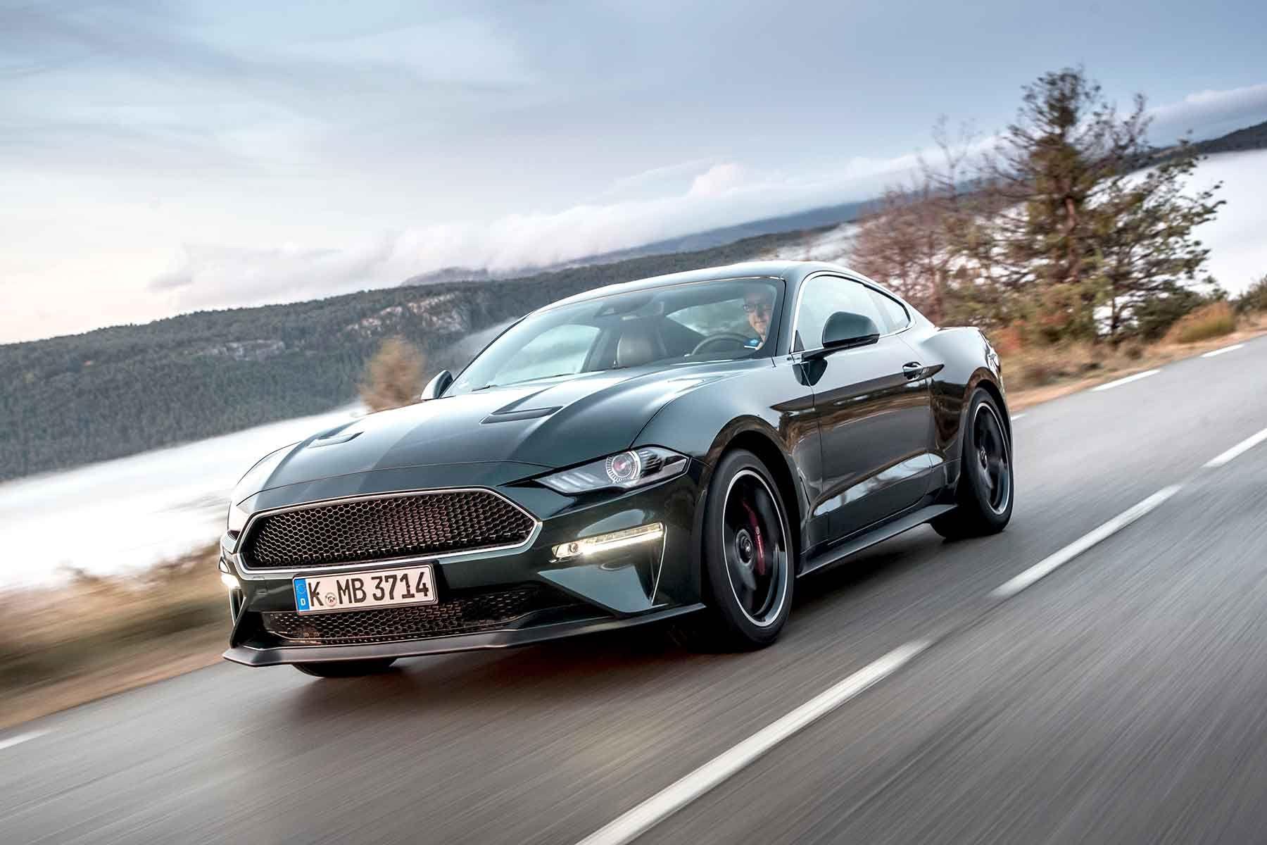 Ford mustang bullitt 2018 review v8 muscle hollywood cool logbookloans finance loans