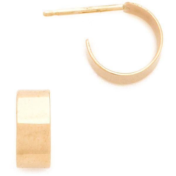 Blanca Monrós Gómez 14K Gold Cuff Hoop Earrings zkHZBS9RC