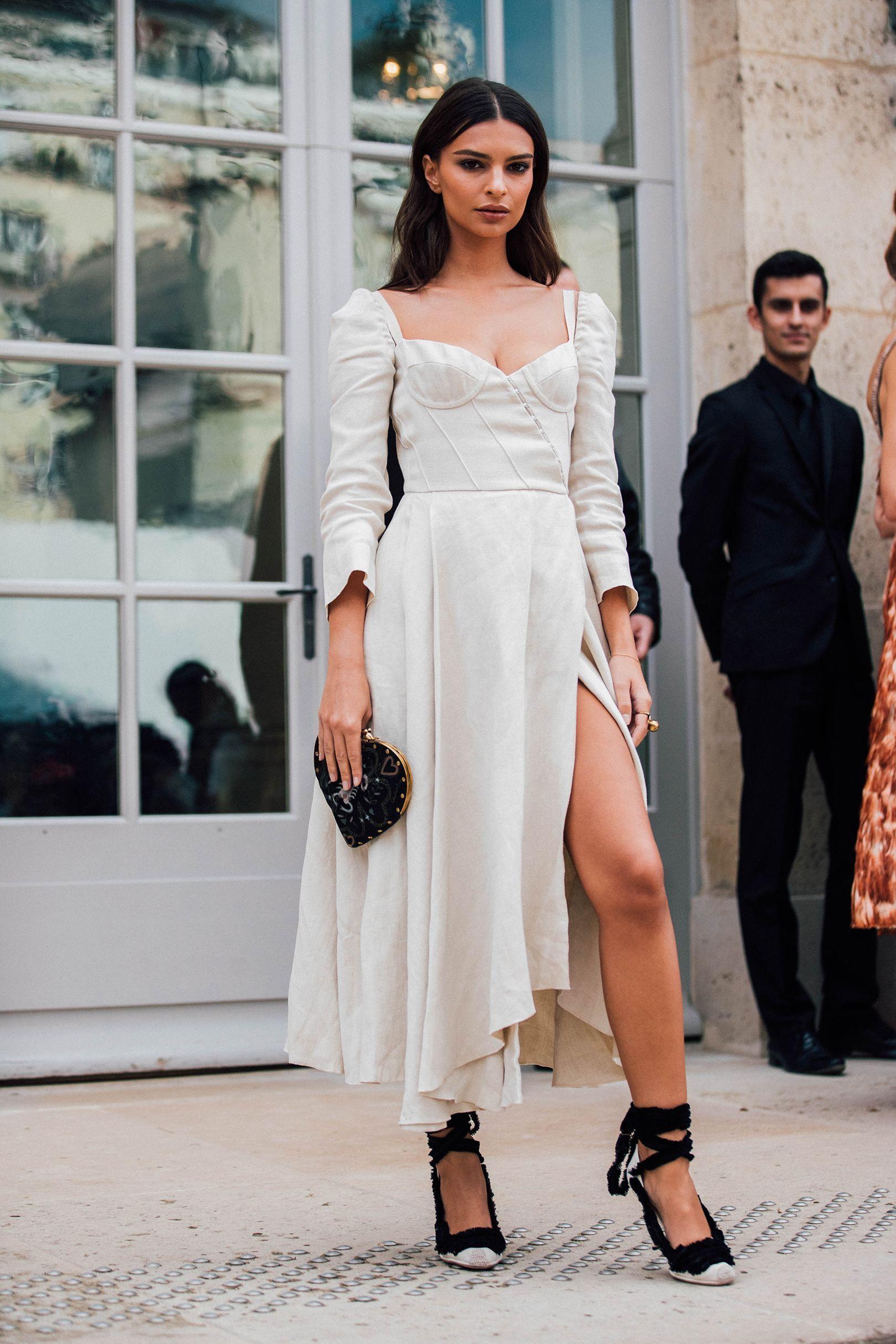 8b79e5d026b Best Celebrity Street Style Looks Outside Dior s Spring Summer 2018 Show