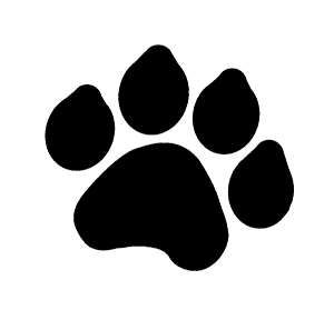 free download free clip art paw prints clipart pictures homehow rh pinterest com