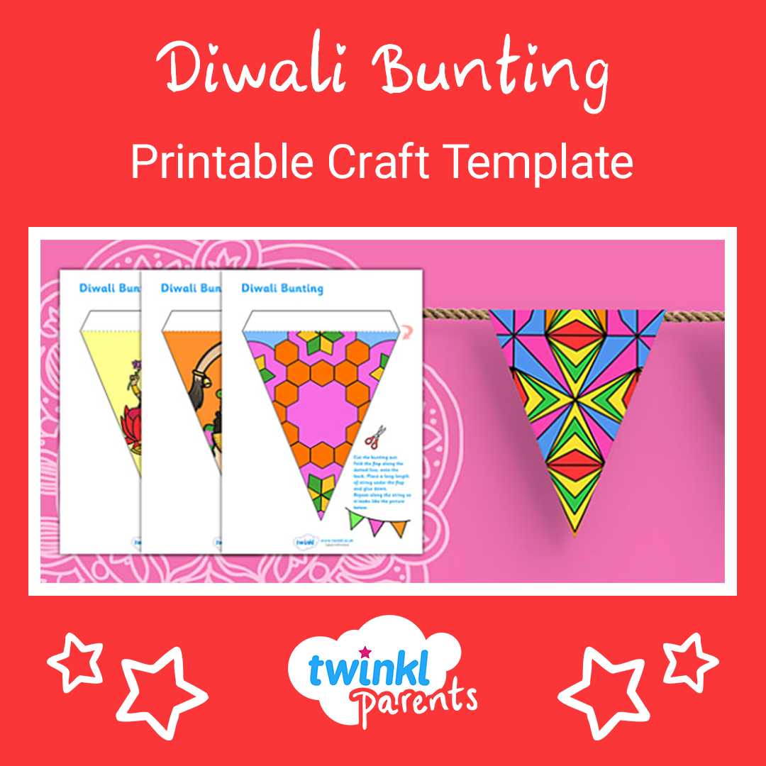 This Diwali Bunting Is Perfect For Your Child To Make And